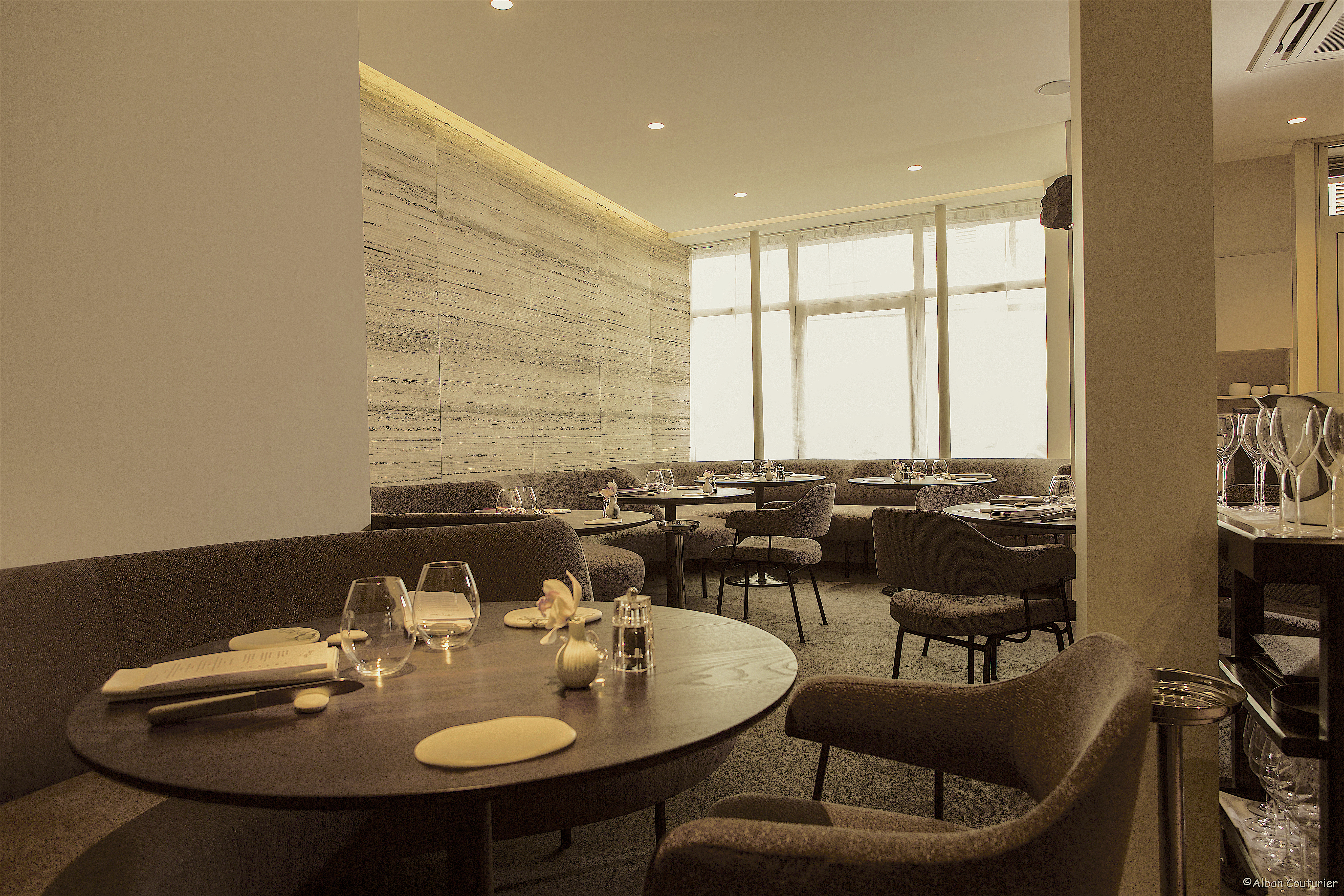 Restaurant Alan Geaam - dining room