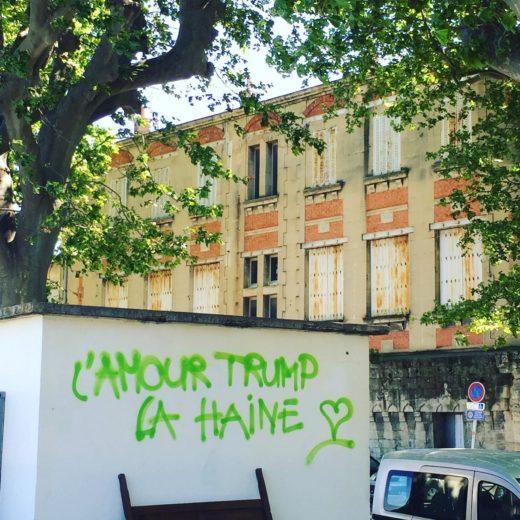 Arles - Graffiti @Alexander Lobrano
