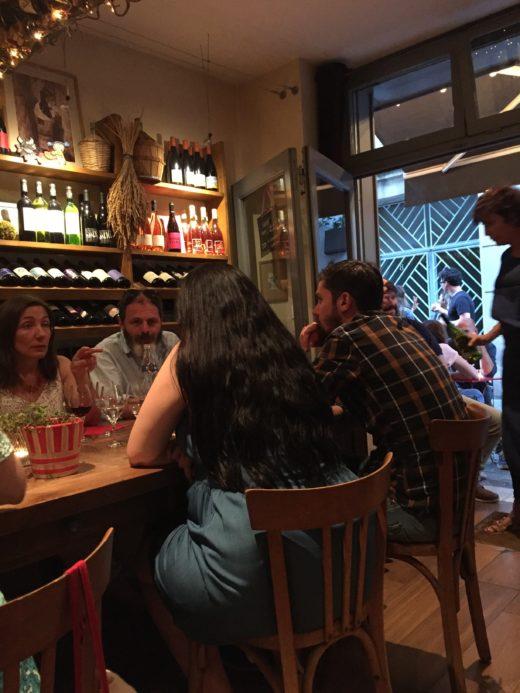Le Gibolin - A Table @Alexander Lobrano