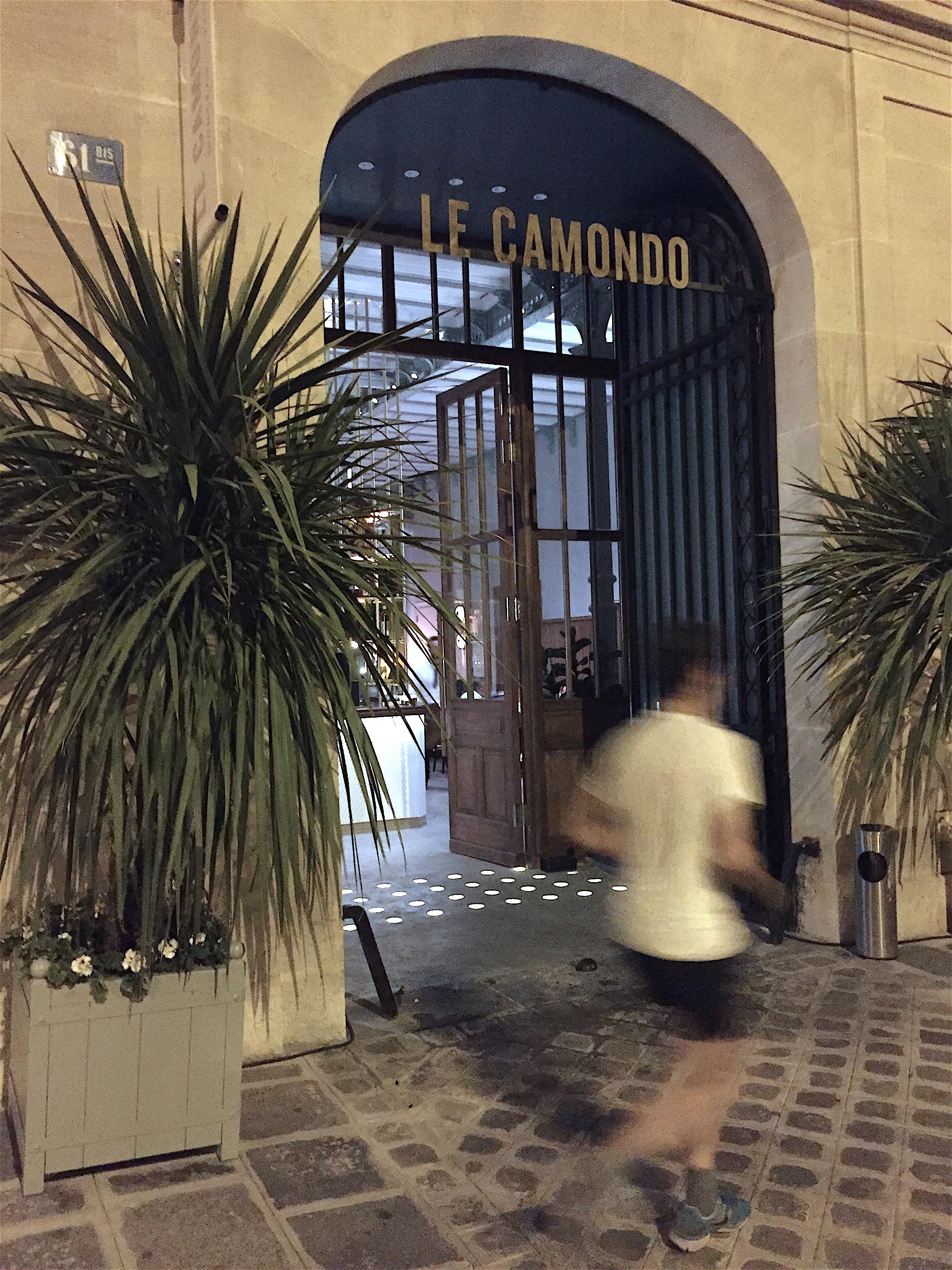 Le Camondo - Entryway @ Alec Lobrano