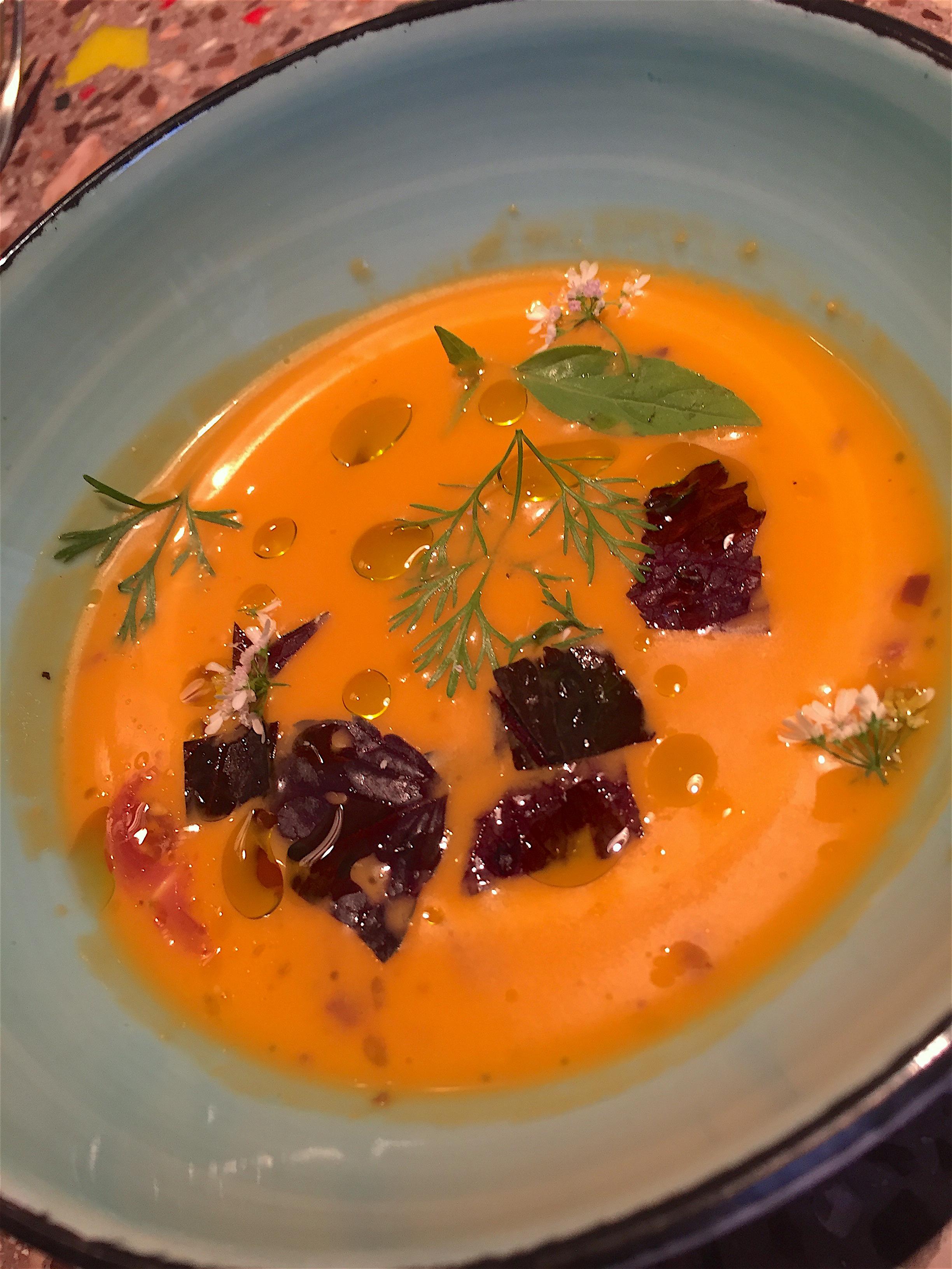 Kitchen Ter(re) - Gaspacho @Alexander Lobrano
