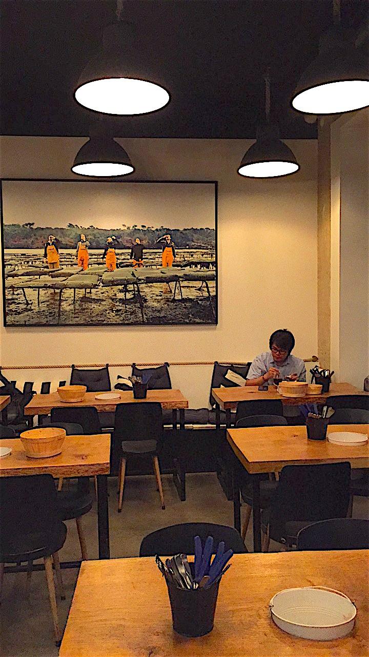 Juste - Dining room @Alexander Lobrano
