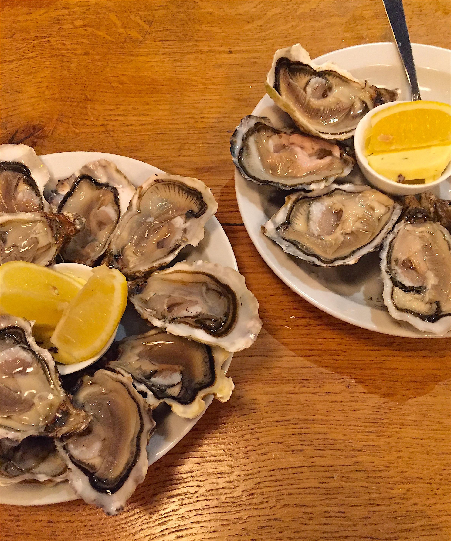 Juste - Oysters @Alexander Lobrano