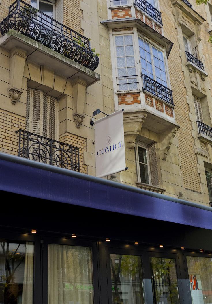 Comice restaurant, Paris - Exterior @alexander Lobrano