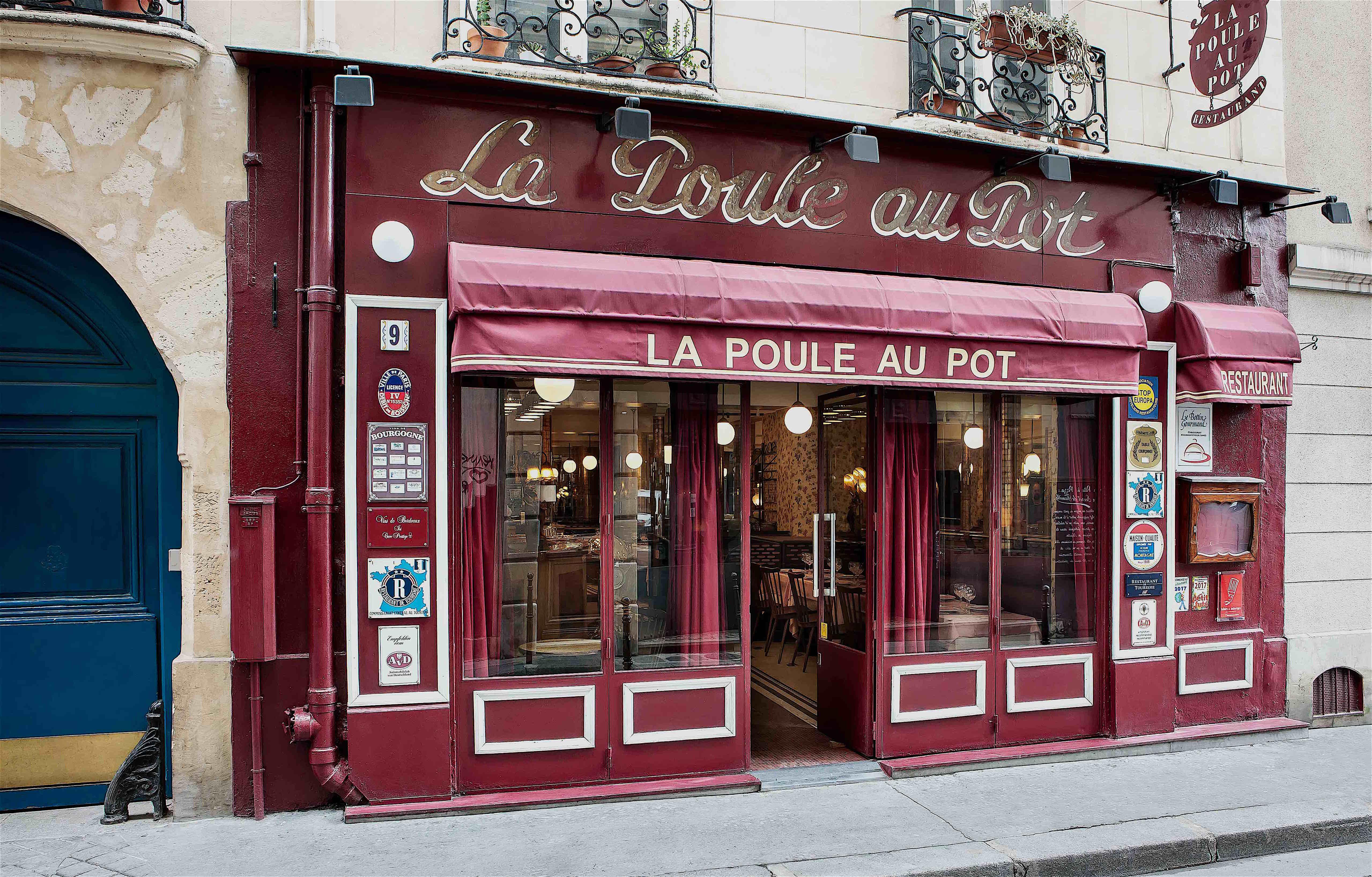 La Poule au Pot, Paris | The Charming Reboot of a Storied
