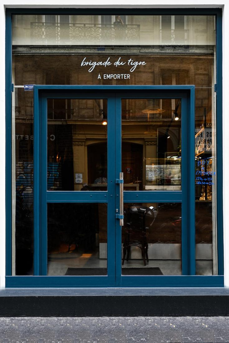Brigade du Tigre - facade @Geraldine Martens